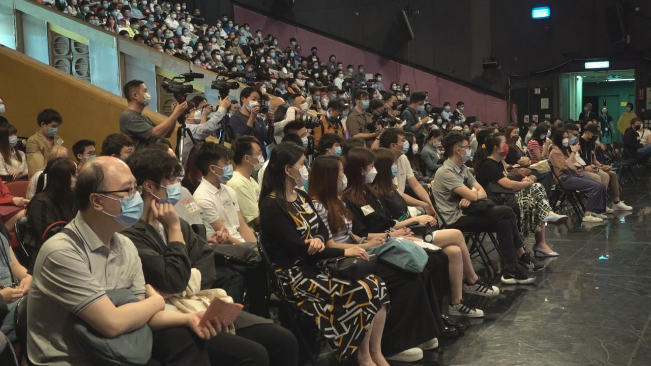 TVB招募幕後人員吸引近700人面試 曾志偉現身鼓勵有志者