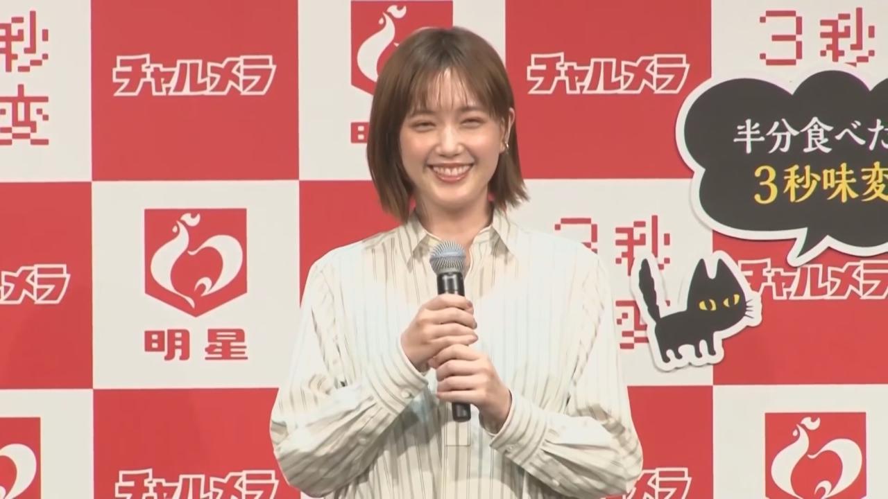 本田翼出席代言活動 自爆超愛食拉麵