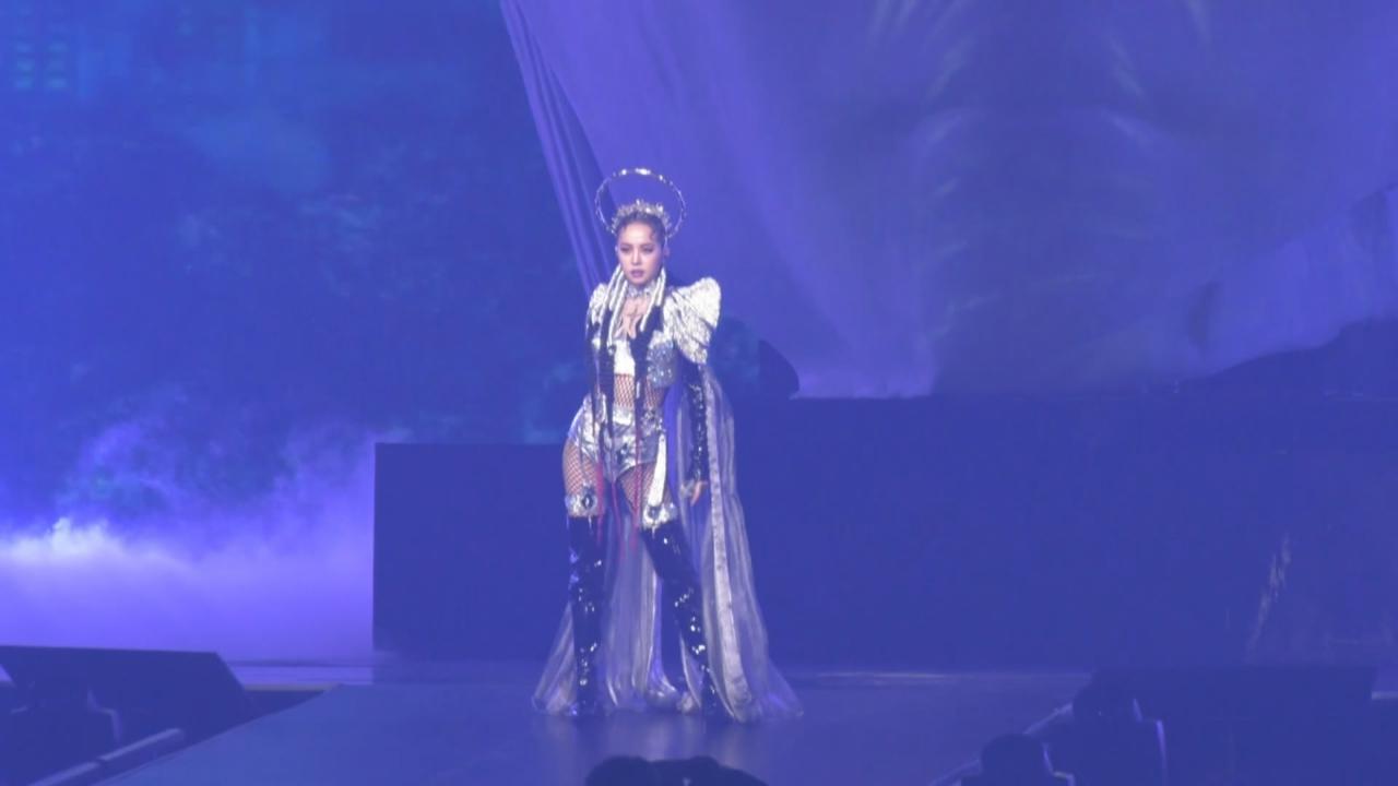 蔡依林七度攻蛋開加演場 打造全新戰衣勁歌熱舞