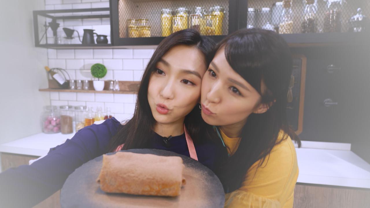 姊妹淘 朱古力流心毛巾蛋糕
