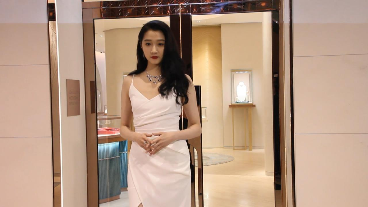 關曉彤北京出席活動 分享有效瘦身秘訣