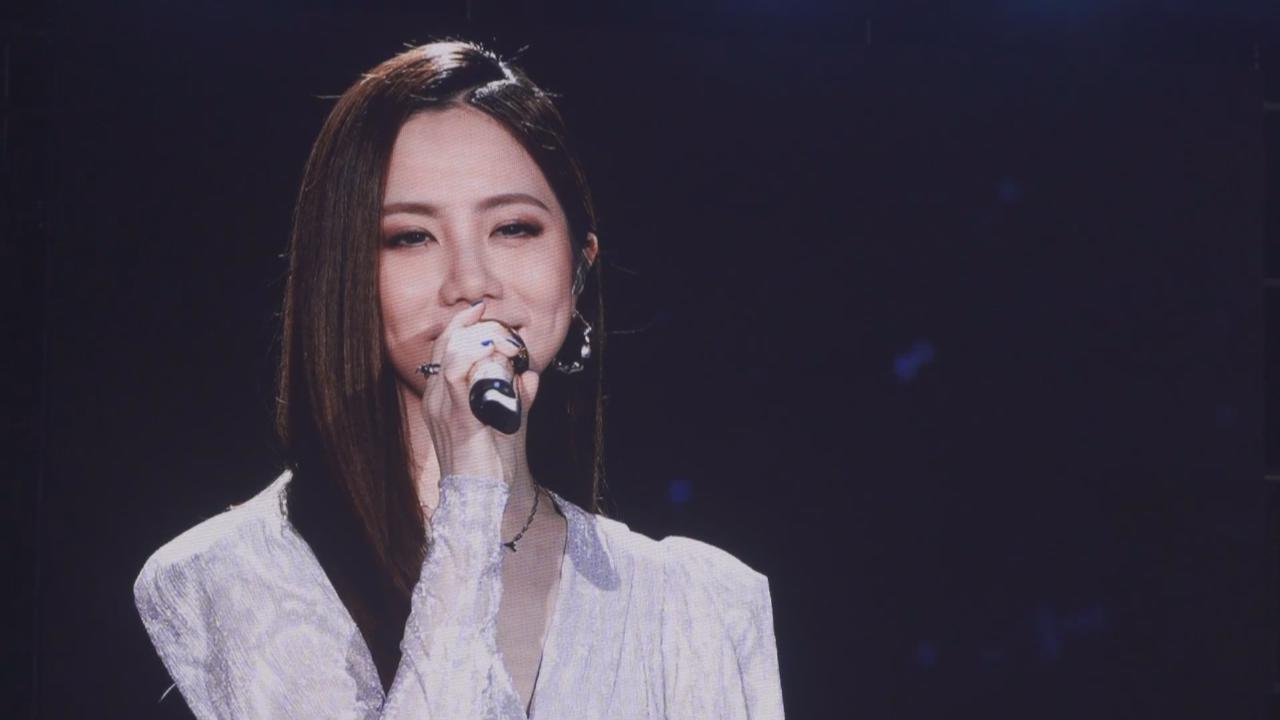 廣州出席音樂派對 鄧紫棋落力獻唱冧粉絲