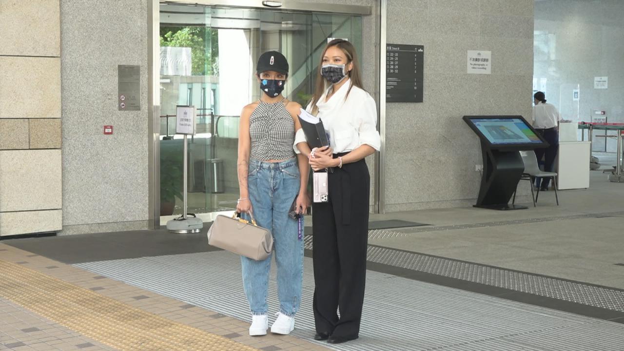 入稟法院向陳潔玲追討賠償 鍾舒漫交代事件經過及心情