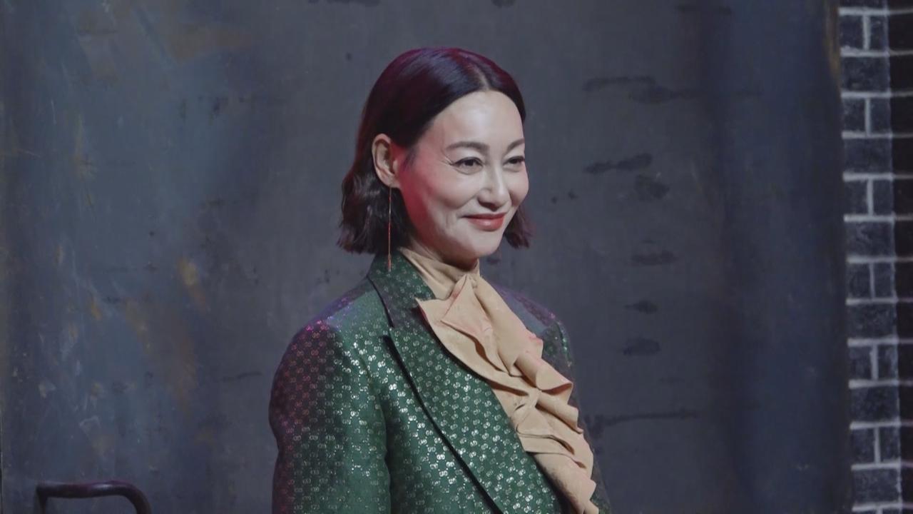 惠英紅上海出席時尚活動 獻上墨寶祝福品牌一百周年