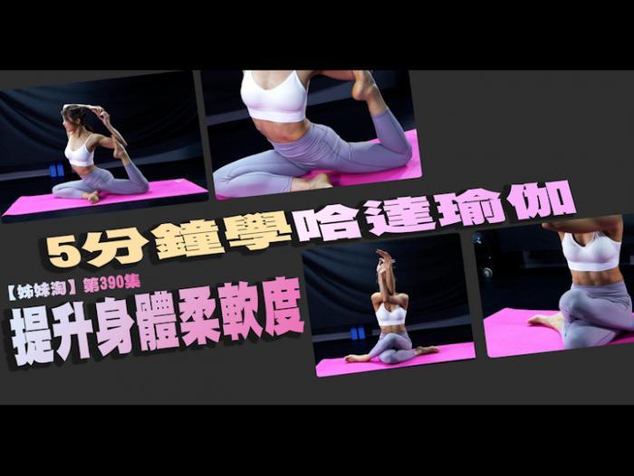 5分鐘學哈達瑜伽提升身體柔軟度