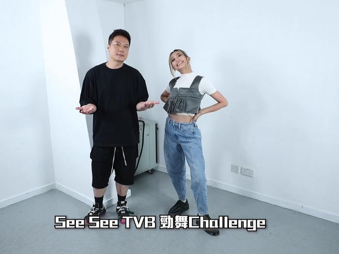 《勁舞Challenge》錢嘉樂因咩事跳到差啲Chok盤骨?