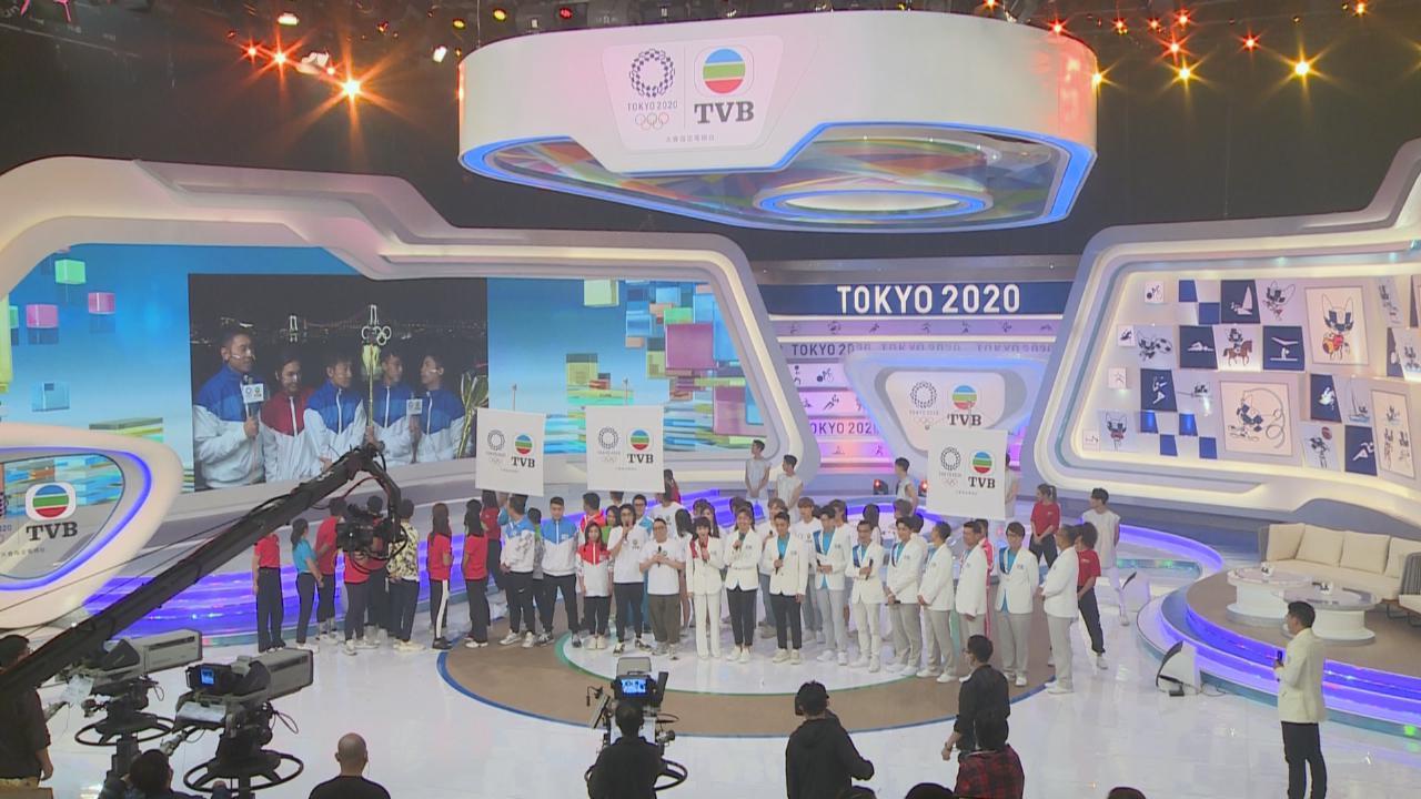 一眾藝人現身全城迎奧運  期望再舉辦明星運動會