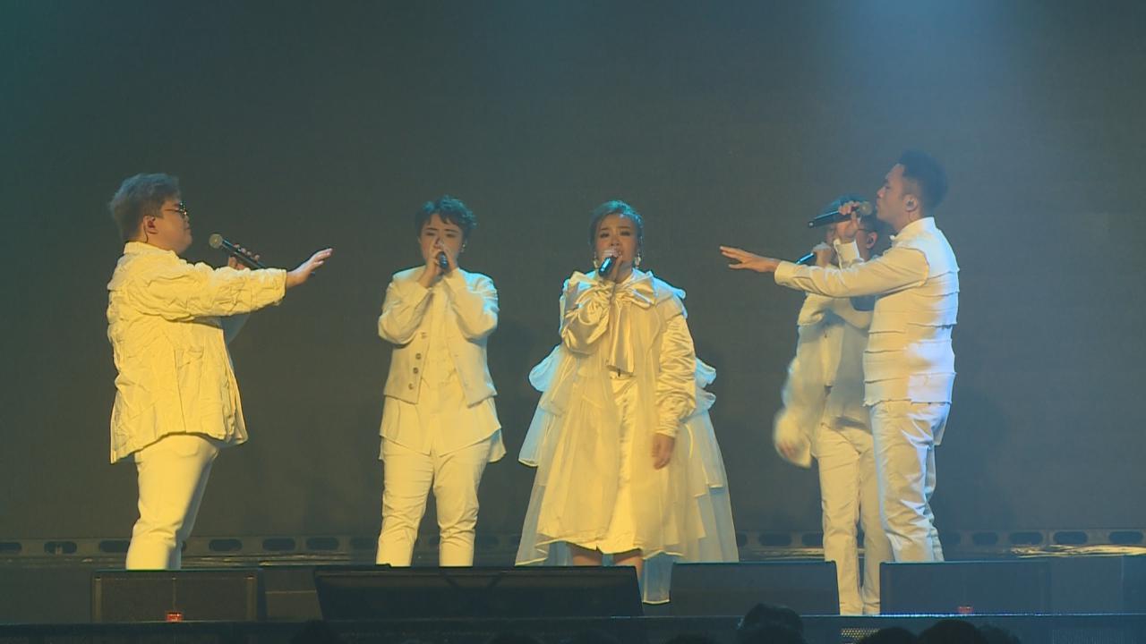 SENZA A Cappella首次開演唱會 Peace感不真實