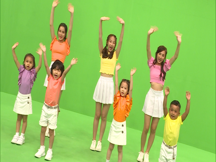 Yumi Chantel Windy 新兒童節目拍mv 終有自己歌感興奮