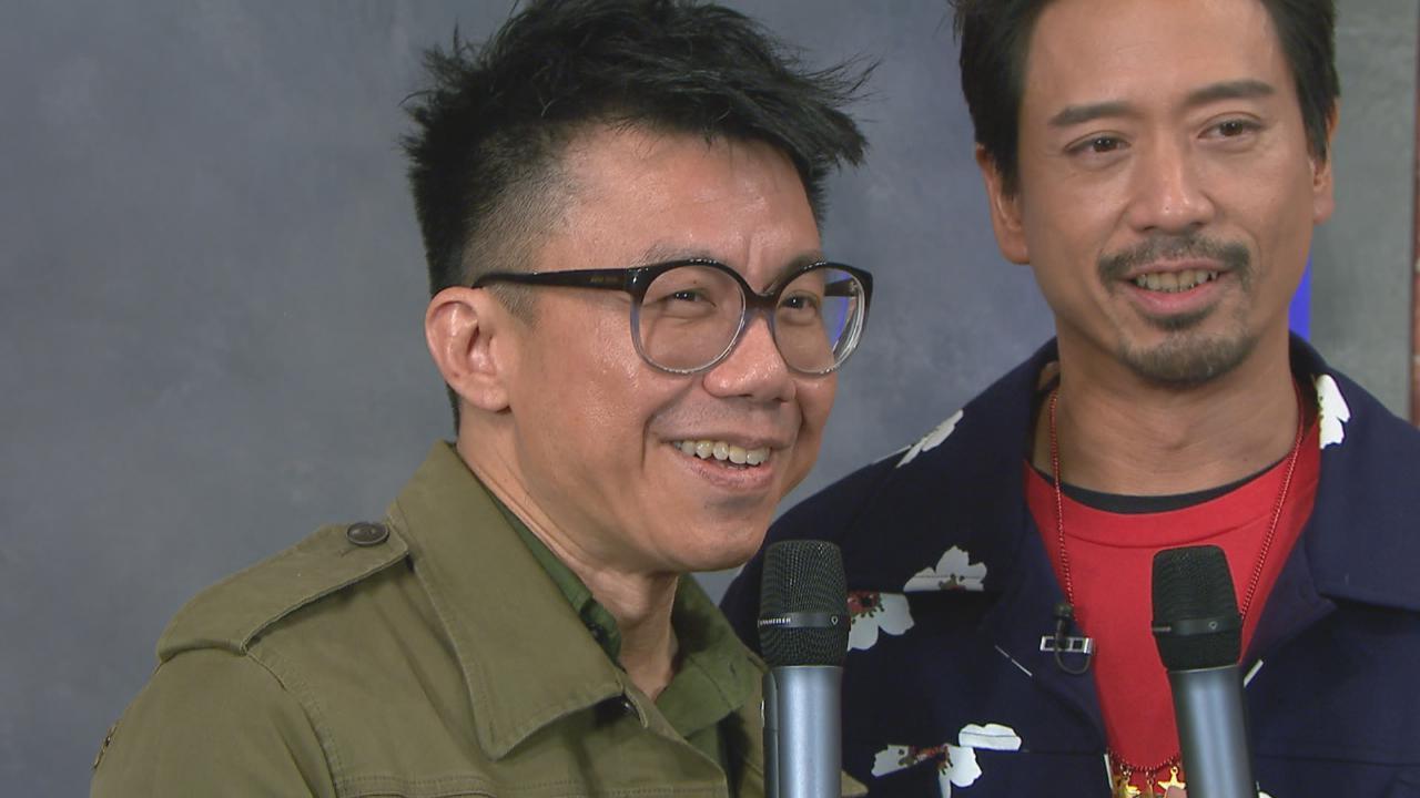 Eric Kwok陳奐仁作客演鬥聽比拼音樂 兩人互窒火藥味十足