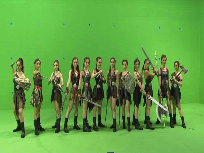 香港小姐決賽12女戰士橫空決戰