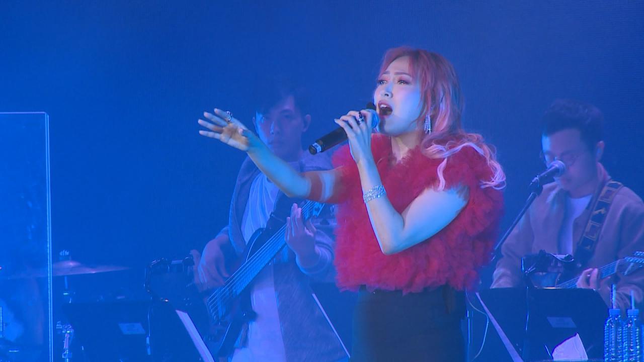 葉巧琳舉行首個個唱感緊張 感謝現場觀眾歡呼聲