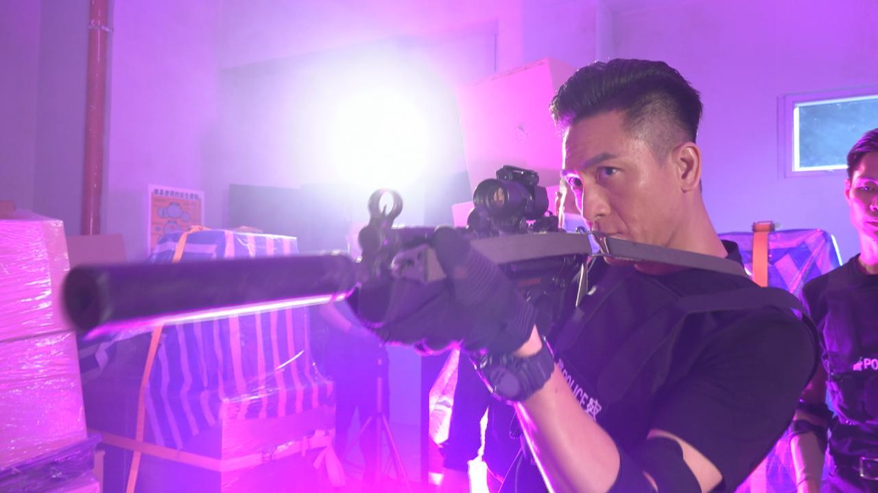 為新劇隱形戰隊拍攝槍戰戲 馬國明稱動作場面多感疲倦