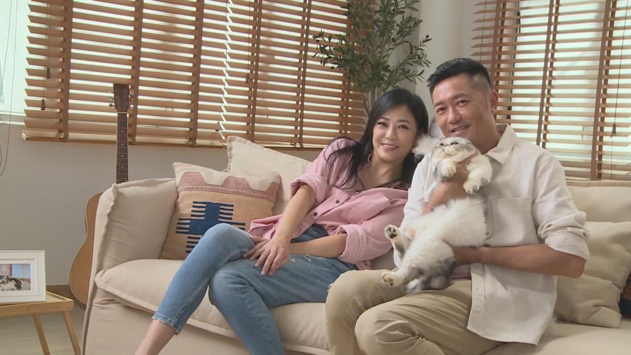 蘇志威夫妻檔孖毛孩拍廣告 二人大談接拍廣告因由