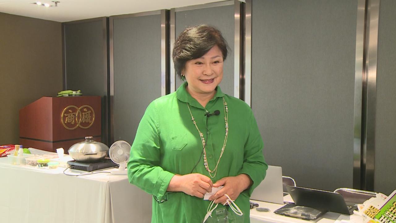 忙於拍攝第三季Gi味俱全 黃淑儀盼再推出烹飪書
